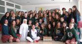2º de Bachillerato de Monteagudo-Nelva destina su regalo de promoción a las Hermanitas de los Pobres