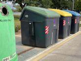 Torre Pacheco incrementa los datos de recogida selectiva y agradece el compromiso con el reciclaje