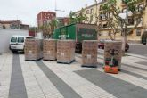 Estrella de Levante dona cinco pallets de botellines de agua al Operativo de Emergencia Social