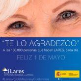 LARES rinde homenaje a las 100.000 personas que hacen posible su compromiso de cuidado con pasión y compasión