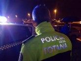 La Policía Local de Totana detiene al conductor de un vehículo que se había saltado un control en el vecino municipio de Alhama de Murcia