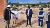 La Comunidad avanza en la construcción de la depuradora de aguas residuales de La Majada en Mazarrón
