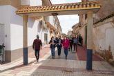 Pozo Estrecho estrena nueva red de saneamiento y calles semipeatonalizadas en el centro del pueblo