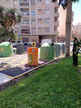La localidad cuenta desde hoy con 20 nuevos contenedores más para aceite usado