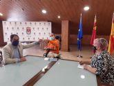 El Alcalde de Los Alcázares y la Concejal de Política Social reciben al nuevo Defensor de las Personas con Necesidades Distintas