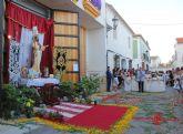 Puerto Lumbreras celebra el I Concurso de Altares y Balcones con motivo de la Festividad del Corpus Christi