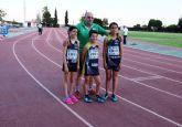 El Club Atletismo Mazarrón obtiene dos medallas en la final regional de Alhama