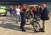 El Ayuntamiento torreño dota a Protección Civil con cuatro bicicletas para su servicio