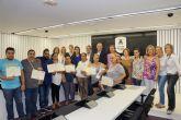 Entregados los diplomas del curso de 'Competencias y habilidades para el empleo' del 'Plan de Desarrollo Gitano'