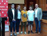 La Concejalía de Bienestar Social de Molina de Segura entrega los premios del concurso de vídeo Razones para divertirnos sin consumir, que ha ganado el IES Vega del Táder