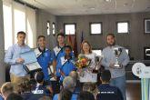 El Ayuntamiento reconoce a la EFB Pinatar por los ascensos en la temporada 2017-2018
