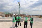 Las obras de urbanización del Parque Empresarial San Andrés en Alcantarilla avanzan a pasos agigantados en su primera fase