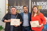 Francisco José Rubio Chinchilla y Emma Martínez Cerdá, ganadores del Concurso Fotográfico ´El tesoro en La Noche de los Museos´