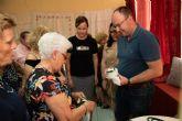 Exposici�n de talleres para cerrar el mayo cultural del centro de personas mayores de Puerto de Mazarr�n 2019