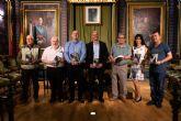 Juan Diego Arroyo presenta en Mazarrón el primer volumen de 'El puente de sal'