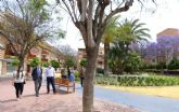 Puente Tocinos estrena una zona verde de 7.200 m2 en el corazón de la pedanía