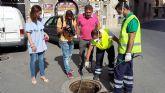 La Concejalía de Sanidad desarrolla un tratamiento especial en los 350 kilómetros de la red de alcantarillado