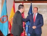 El presidente de la Comunidad se reúne con el alcalde de Mula