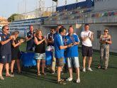 La escuela de Fútbol Base Pinatar celebra una jornada de convivencia para cerrar temporada