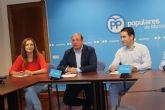 Teodoro García: 'La Región de Murcia necesita un gobierno ya en España para no perder ni un minuto'