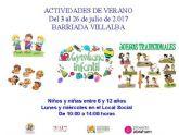 Proyecto Abraham y Servicios Sociales llenan el verano de actividades infantiles en Villalba