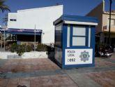 La Policia Local de Cartagena habilita un punto de atencion al ciudadano en la Plaza Bohemia de La Manga