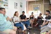 Los integrantes de la Plataforma del Voluntariado de la Región aportan sus propuestas al Plan de Juventud