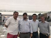 Fernando López Miras asiste a las actividades organizadas con motivo de las II Jornadas Gastronómicas 'Mi Mar Menor de Salazón'