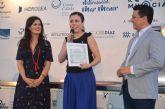 Virginia Martínez, directora de la Sinfónica regional, elegida como 'La Más Salá' de las Jornadas Mi Mar Menor de Salazón