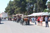 Carruajes, calesas y carros recorren San Pedro del Pinatar