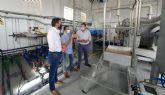 El Gobierno regional invierte 1 millón de euros para mejoras del tratamiento y depuración de aguas en la EDAR de Bullas