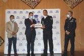 El agente de la Policía Local, Alfonso Sánchez, galardonado con una de las Medallas Nacionales al Mérito Profesional que concede UNIJEPOL