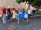 La zona infantil de la plaza Mayor de Murcia estará renovada la semana que viene
