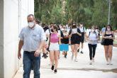 Comienza la EBAU de julio para más de un millar de estudiantes de la Región de Murcia