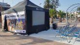 Los Alcázares acoge la actividad ´Un patrimonio de cine´ con proyección de cortos y juegos con gafas de realidad virtual
