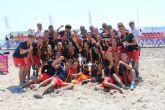 Doblete de la Selección Catalana en los nacionales de fútbol playa cebrados en Lo Pagán