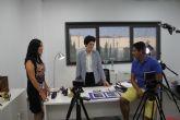 Comienza en Puerto Lumbreras el rodaje del proyecto audiovisual 'Milenials de pueblo'