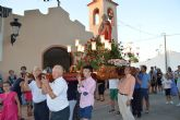 La procesión de San Joaquín cierra como es tradición las fiestas de La Loma