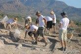 """Unos 20 voluntarios participan en el V Campo de Trabajo Arqueológico de """"Las Cabezuelas"""", que se celebra hasta el 3 de agosto"""
