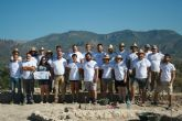 Unos veinte voluntarios participan en el V Campo de Trabajo Arqueológico en el yacimiento de 'Las Cabezuelas', organizado por la Asociación 'Kalathos'