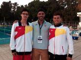 Excelentes resultados del nadador alhameño Pedro Ruano