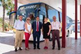 La comunidad subvenciona la l�nea de autob�s que une Mula con Puerto de Mazarr�n