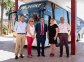 El Gobierno regional garantiza el servicio de autob�s que conecta Puerto de Mazarr�n con Mazarr�n, Mula, Alhama y Totana