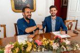 El Ayuntamiento entrega una aportación de 15.000 euros a la Joven Orquesta Sinfónica de Cartagena