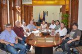 Todos los grupos de la Corporación Municipal apoyan las reivindicaciones de los trabajadores de Renfe para defender la continuidad del Centro de Reparación de Componentes de Águilas