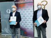 El Hospital de Molina y el Colegio Oficial de Periodistas de la Región de Murcia, juntos en por la seguridad sanitaria de los profesionales colegiados