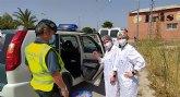 La Residencia de Personas Mayores 'La Purísima' agradece a las Fuerzas y Cuerpos de Seguridad del Estado su trabajo