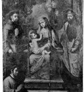 El Cabildo presenta la investigación final sobre la restauración de la pintura (Virgen del Consuelo)