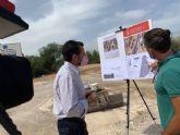 Los vecinos de La Alberca dispondrán  de un aparcamiento disuasorio de más de 200 plazas el próximo otoño