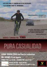 El Centro Cívico Cultural albergará el 13 de agosto el estreno del cortometraje 'Pura casualidad', del lumbrerense Víctor López Parra